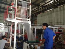 LDPE HDPE LLDPE Blown Film Extrusion Machine film blowing machine