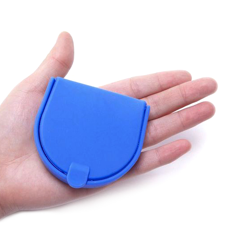 Customized eco-friendly waterproof mini silicone coin purse