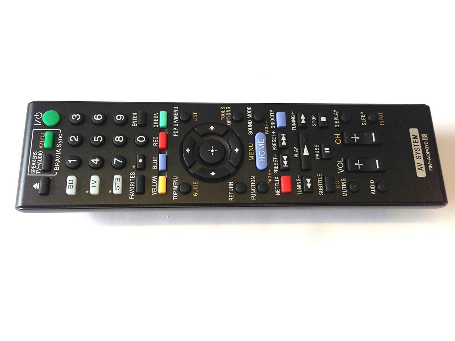 Neohomesales New OEM SONY Remote Control RM-ADP070 for Sony BDV-E780W HBD-E280 BDV-E980W HBD-E580 AV System
