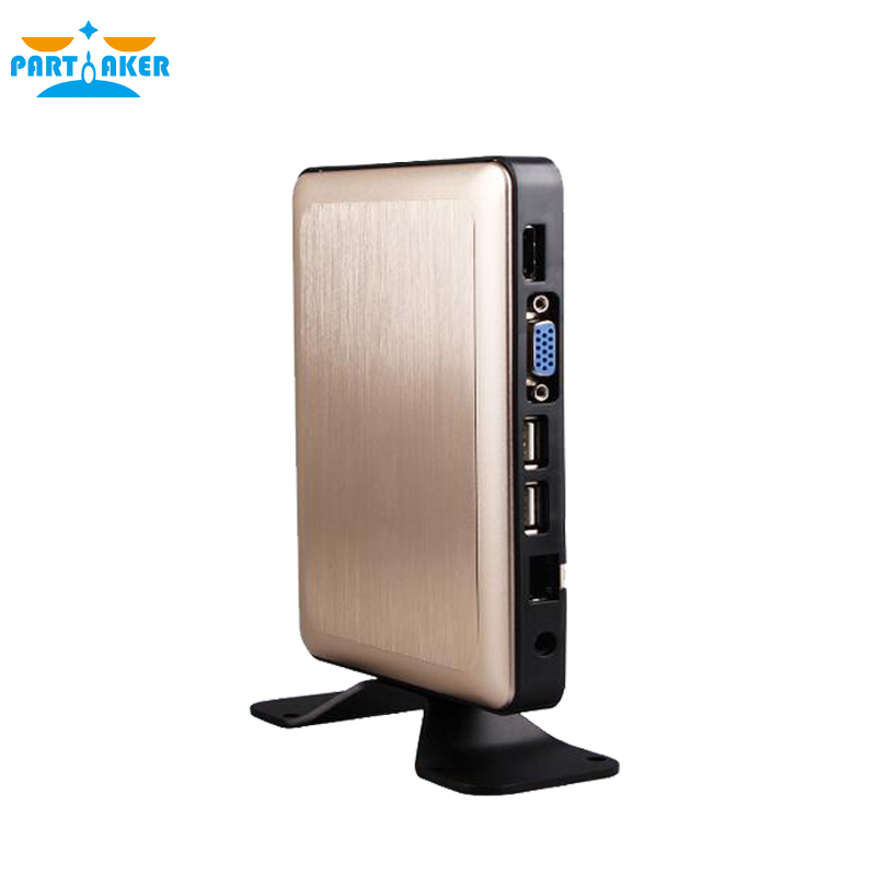 Partaker Thin Client X6 Linux Embedded Cloud Terminal 1080P RDP 8.0 Server OS Support Win7/8/Linux