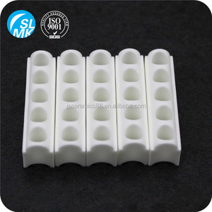 white ceramic heating parts steatite ceramic for band heater