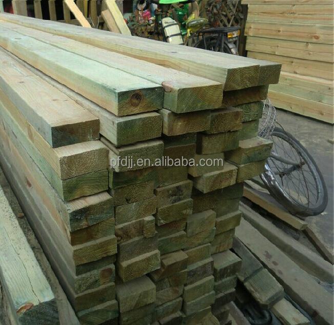 High quality treated wood