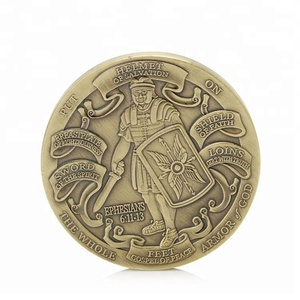 Put On The Full Armor Of God Marine Corps Commemorative Coins