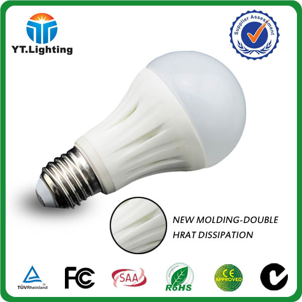 LED BULB 2014 New Ceramic Indoor Solar LED Bulb Light 12V LED Bulb 90Lm/w