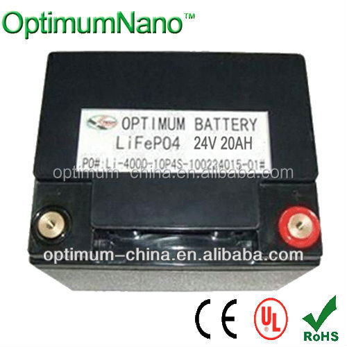 24V20AH LiFepo4 battery for wheelchair