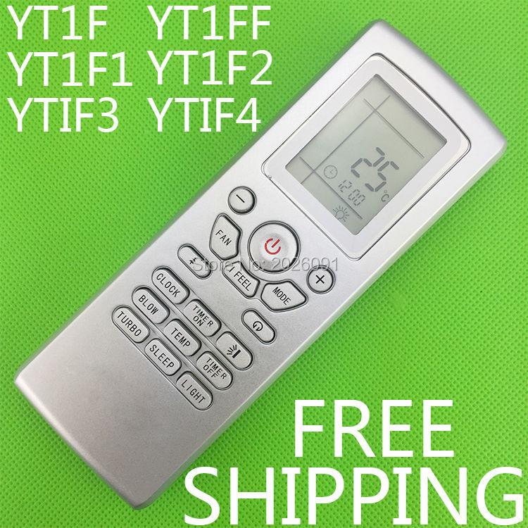 Wholesale- Conditioner air conditioning remote control suitable for Gree  Mcquay LENNDX Aermec TRANE Yt1f Yt1ff Yt1f1 Yt1f2 Yt1f3 Yt1f4