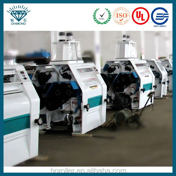 Whole factoy line of wheat milling machine mill wheat into flour grain grinding machine