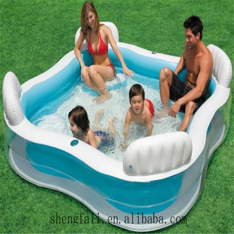 2017 Round Inflatable Swim Center Family Pool