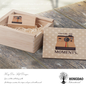 HONGDAO Gift Box With Photography USB Flash Drive And