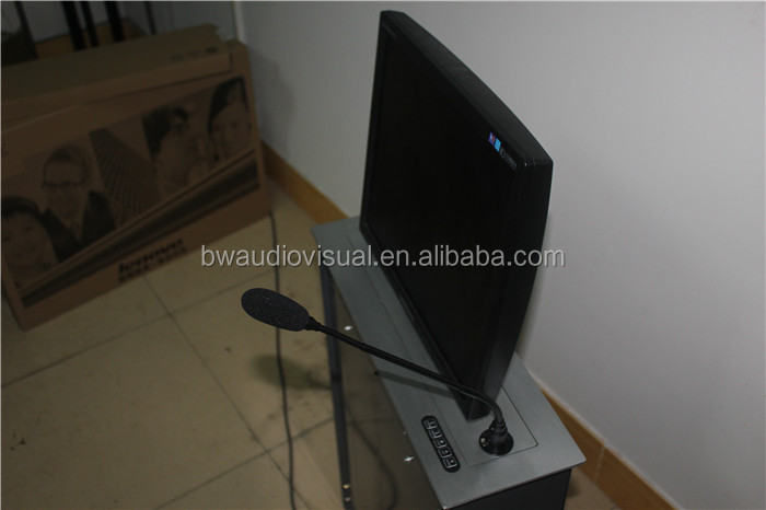 Guangzhou BW audiovisual lcd plasma tv lift for conference table