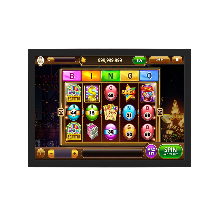 Square Screen 15 Inch Infrared Touch Screen 3 M Touch for POG/WMS Pot O Gold Open Frame Gambling  Club
