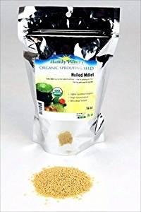 Organic Hulled (Husk Removed) Millet Seeds: 2.5 Lb - Non-GMO Cereal Grain - Make Millet Beer, Grind Millet Flour, Cereal, Bird Seed, Emergency Food Storage
