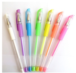 Hot bulk sale cheap Customized logo gel pen kit for Drawing