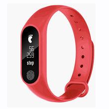 M2 спортивные Шагомер светодиодный браслет сердечного ритма Bluetooth V4.0 электронные часы мужские часы электронные мужские часы лучший бренд кл...(Китай)