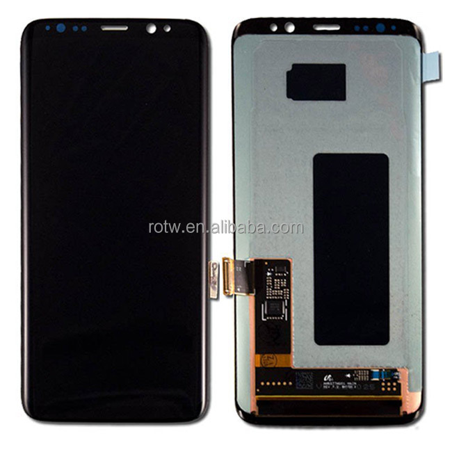 S8 Display G950, LCD for Samsung Galaxy S8 Display with Touch Screen Digitizer Assembly Replacement