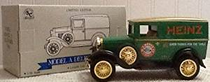 """Ford Model A Heinz Delivery Van Lockable Coin Bank (Limited Edition) (Die-Cast) (1/25 Scale)"