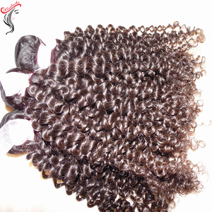 10A Spanish Kinky curly hair Weaving Raw Virgin Afro Mongolian Exotic Human Hair Weft Accept PayPal