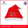 red christmas cap with embroidery logo