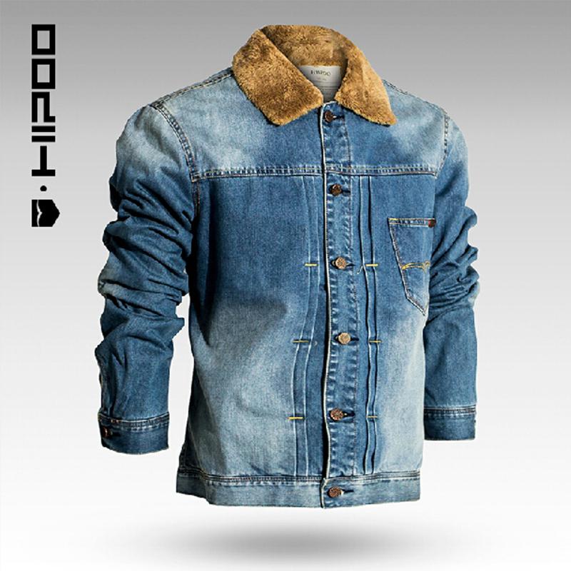 Jean Jacket With Fur Coat Nj