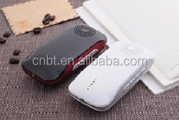 bluetooth speaker 2600mah portable power bank for universal mobile