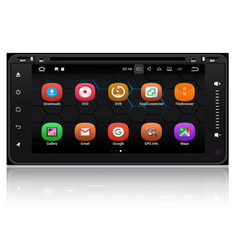 6.95'' <strong>Android</strong> 7.1 OS Touch Screen Autoradio Video Stereo Player For <strong>Toyota</strong> <strong>Universal</strong> Series With GPS Navigation WiFi Bluetooth