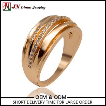 Jn4055 Hot Brass Jewellery Manufacturer Zircon Gold Plated Cheap