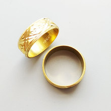 Gold Filled Round Cut Size 7 8 9 Wedding Engagement Solid Ring