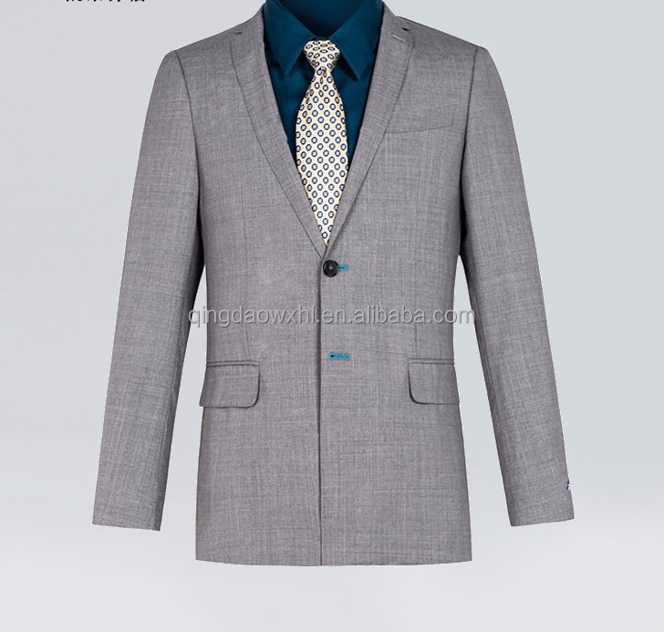 We have various materials incluing wool silk cotton TR and linen summer suits men coat mant men suit