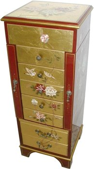 Chinese Style Hand Painted Jewelry Armoire Jewelry Cabinet Buy