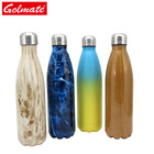 wholesale 500ml 750ml 1000ml insulated stainless steel cola sport water bottle
