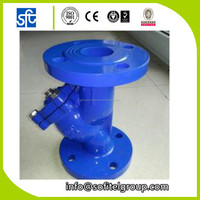 Strict quality management ductile iron filter valve y strainer, y strainer