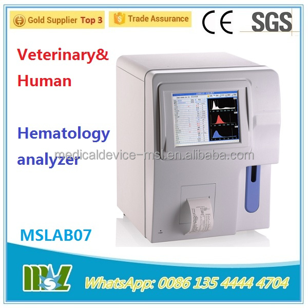 Hematology analyzer with open reagent system, hematology analysis price