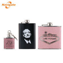 Wholesale Customized Good Quality stainless steel hip flask