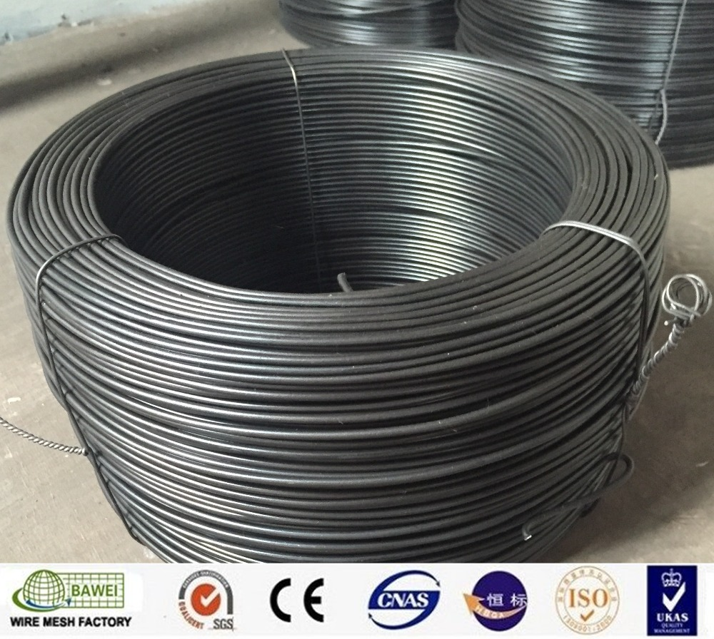 Hard Drawn Low Carbon Raw Material Black Wire For Nails On Sale ...