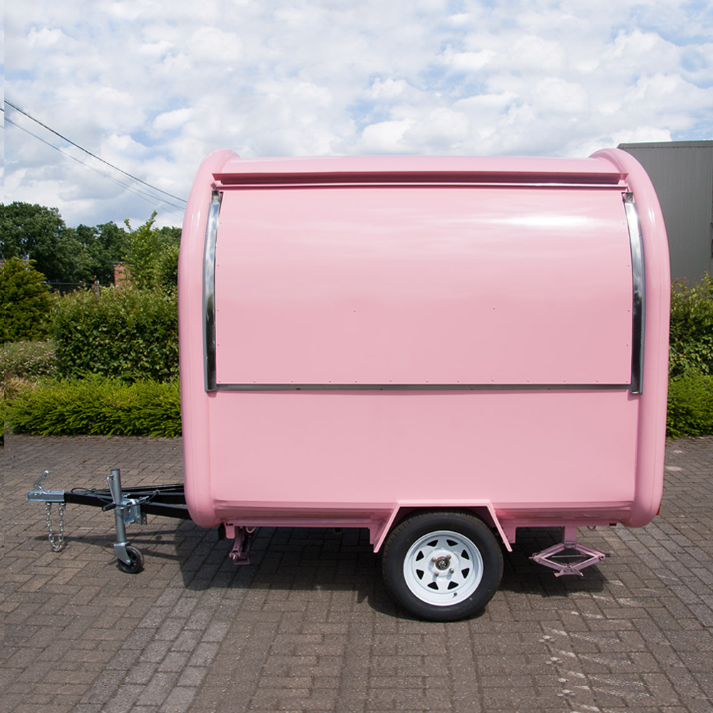OEM Customized Mobile Street Fast Food Anhänger Mobiler Food Truck Lebensmittelwagen