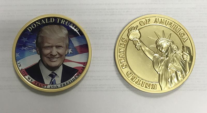 Factory Cheap 2017 Donald Trump President Challenge Coins - Buy Donald  Trump Challenge Coins,U s  President Souvenir Coin,Trump Coin Product on