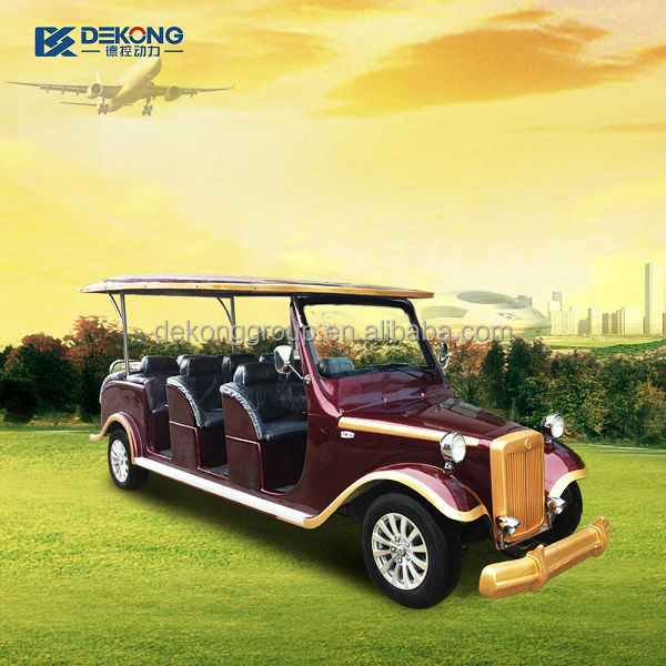 2015 hot sell cheap cost theme park real estate golf course pickup electric car import