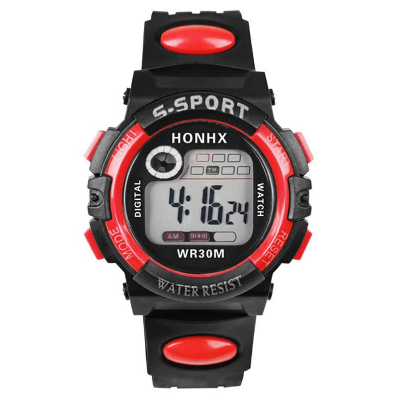 Digital Watch, 1Pcs Multifunction Sport LED Light WristWatch Watches Kids Boy Girl Children Watch Overmal Support Drop shipping