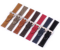 20mm 22mm Wholesale Genuine Leather Watch Strap / Watch Band leather