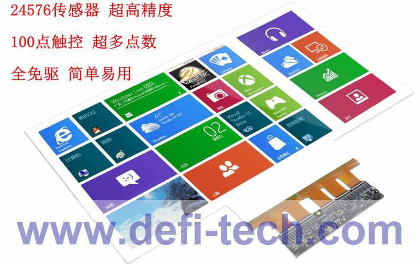 Windows 7 Tempered Glass Touch Screen Protector Usb Touch Screen ...