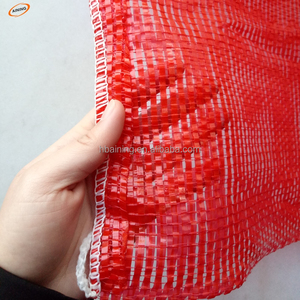 sell new material 30kg pp tubular mesh bags for onion size 50x80cm