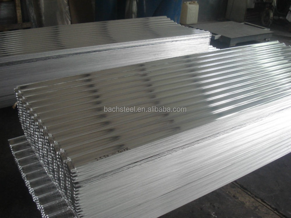 hot dipped galvanized corrugated iron sheet22 gauge zinc coated steel roofing sheets