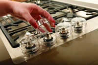 Stove Knob Stops for Baby Safety in Kitchen
