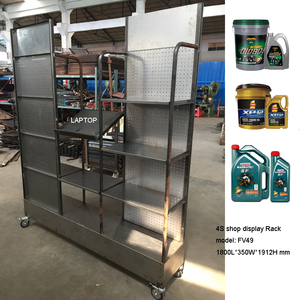 Special design display racks and stands with wheels FV49