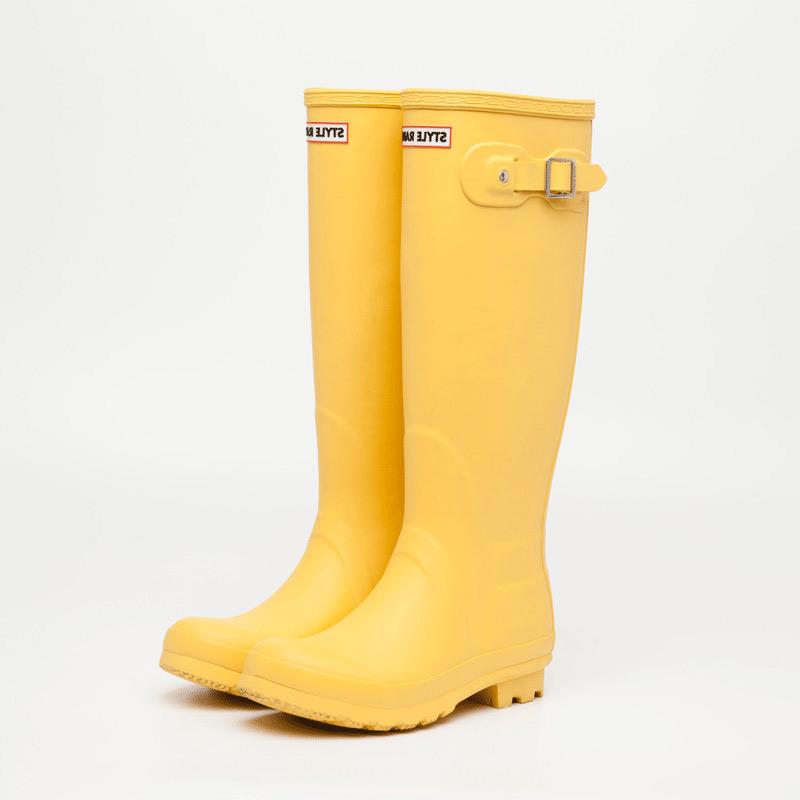 Buy Rubber Rain Boots Women,Yellow