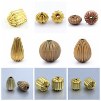 14k gold filled nugget spacer beads jewelry fashion accessory findings manufacturers china