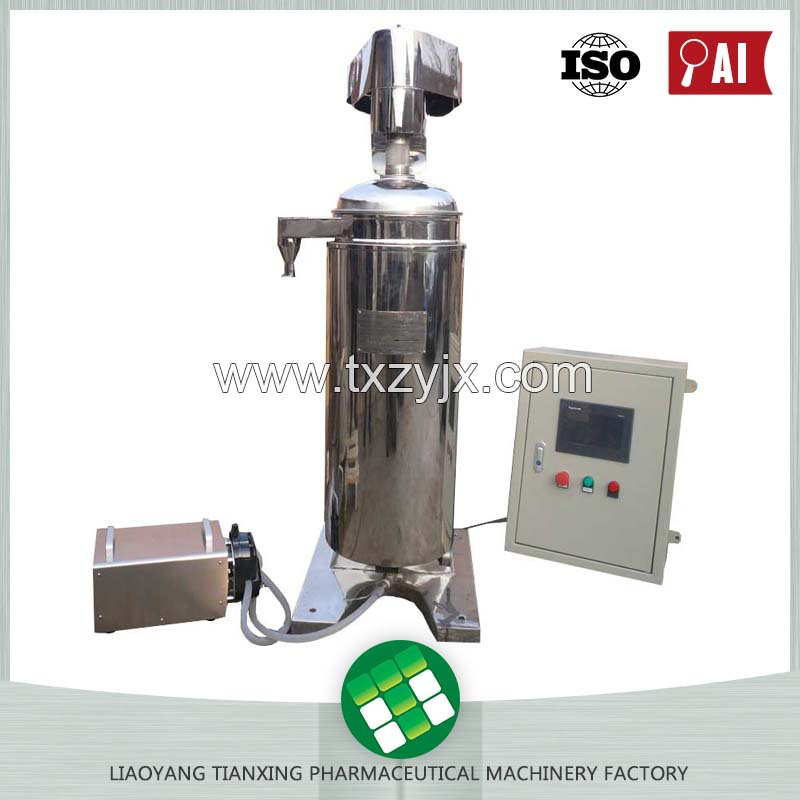 Simple Installation Low Cost Easy Operation Pigment Extracted Tubular Centrifuge