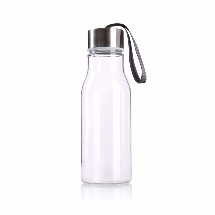 Hot selling good quality transparent clear plastic drinking water bottle