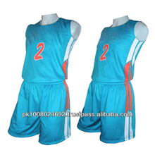 Custom dry basketball uniforms sublimated jersey shorts