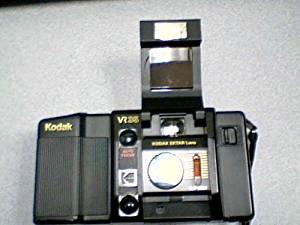 Eastman Kodak Company Kodak K12 DX Programmed Auto Film Speed 35mm Camera Kodak VR Filmed Camera w/ Kodak Ektar Lens f2.8 35mm lens camera (Black Color)